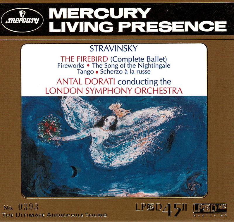 The Firebird / Fireworks / Scherzo à la Russe / Song of the Nightingale / Tango