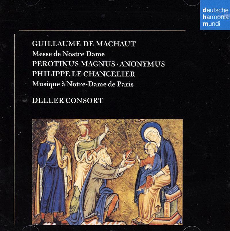 Messe de Nostre Dame, mass for 4 voices