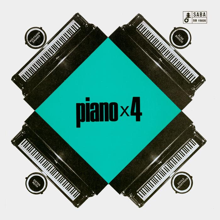Piano x 4