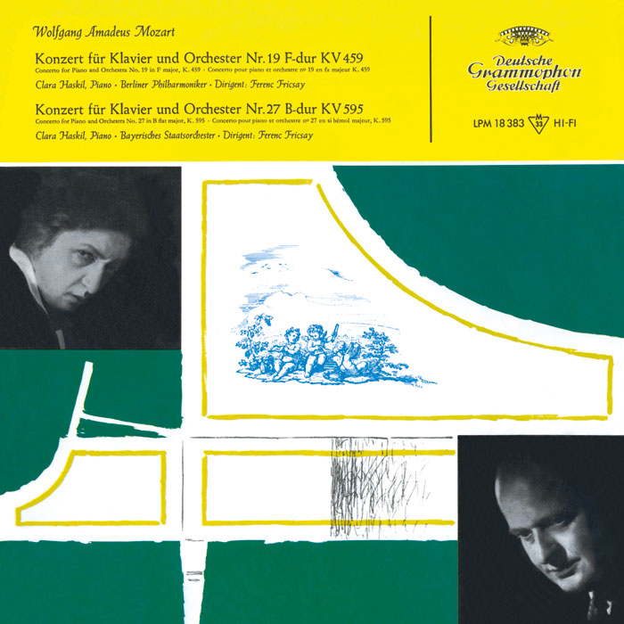 Concertos for Piano and Orchestra No. 19 F major, K. 459 and No. 27 B flat major, K. 595 image