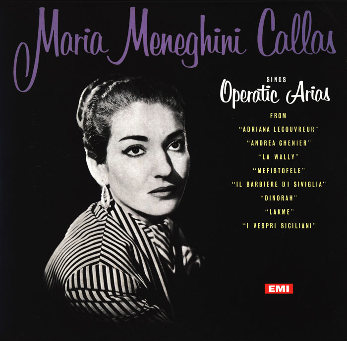 Maria Callas sings Operatic Arias <br><font color=navy>BRYLANTOWA SERIA</font>