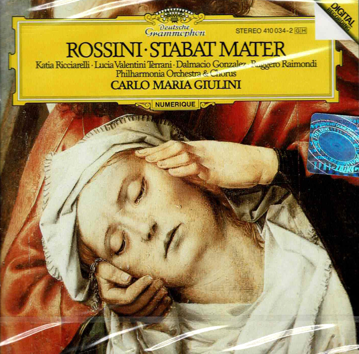 Stabat mater for 2 sopranos, tenor, bass, chorus & orchestra