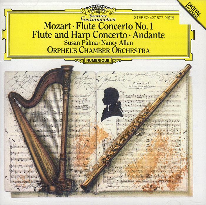 Flute Concerto No. 1 / Flute & Harp Concerto image