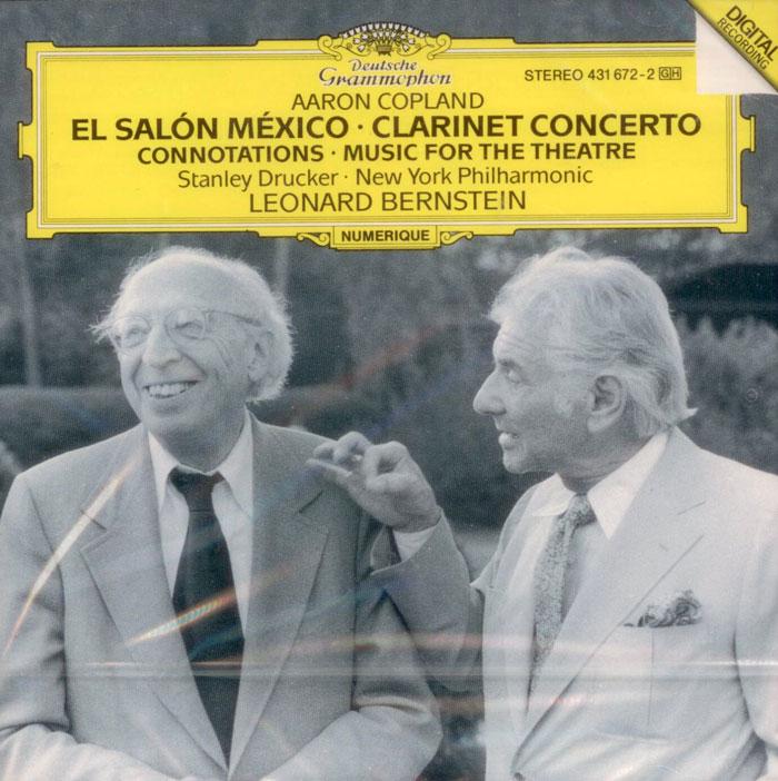 El salon Mexico / Concerto for Clarinet / Music for the Theatre
