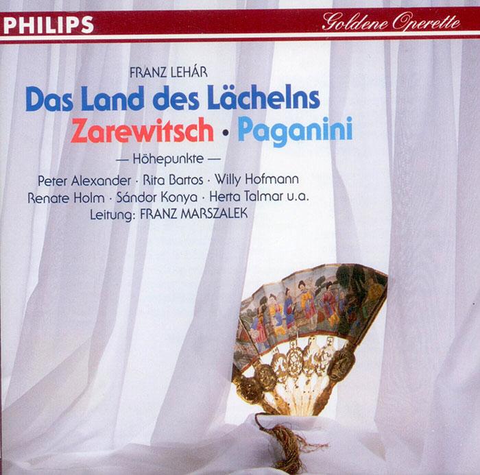 Das Land des Lächelns / Zarewitsch / Paganini