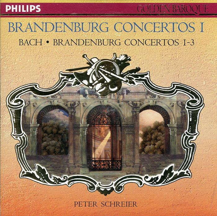 Brandenburg Concertos 1 - 3 / Suite for Orchestra in D, Bwv 1068  image