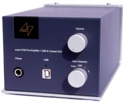 TOP CLASS - Model 4733 Midnight Blue Stereo Preamplifier