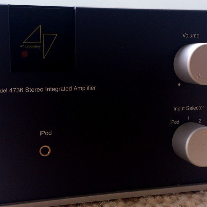 TOP CLASS Stereo Integrated Amplifier Model 4736 'Midnight Blue'