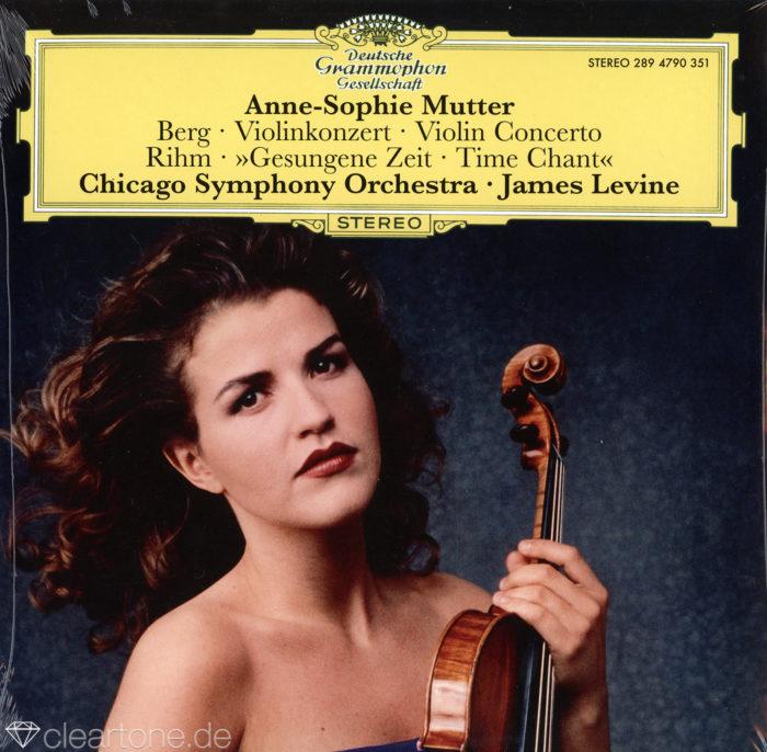 Violinkonzert / Gesungene Zeit