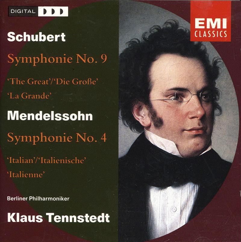 Symphony No. 4 -Italian / Symphony No. 9 -Great