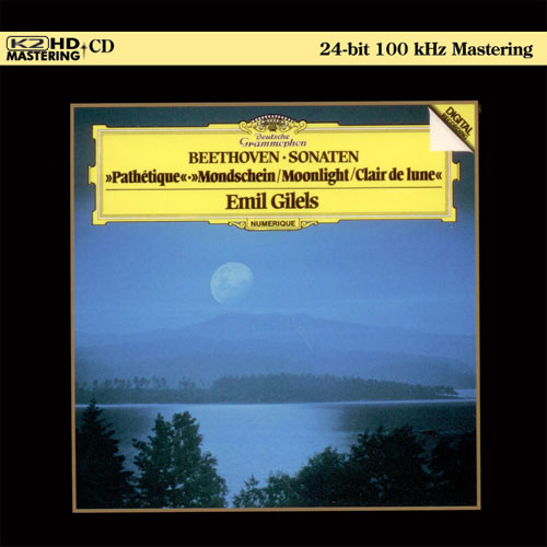 Piano Sonatas 8 Pathetique, 13 & 14 Moonlight image