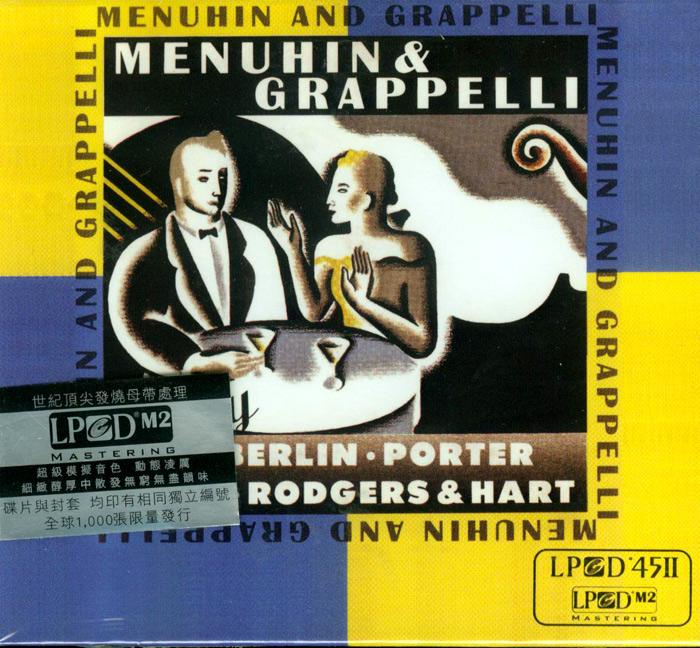 Menuhin & Grappelli Play Berlin, Kern, Porter and Rodgers & Hart