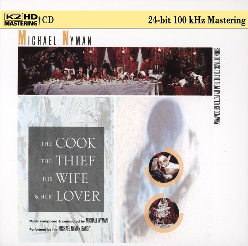 The Cook, The Thief, His Wife and Her Lover (Soundtrack)