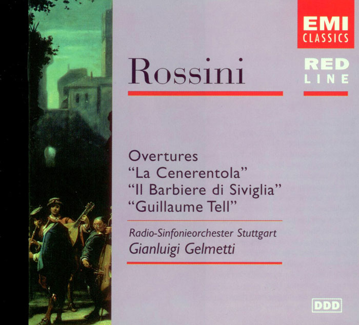 Club Cd Rossini Overtures