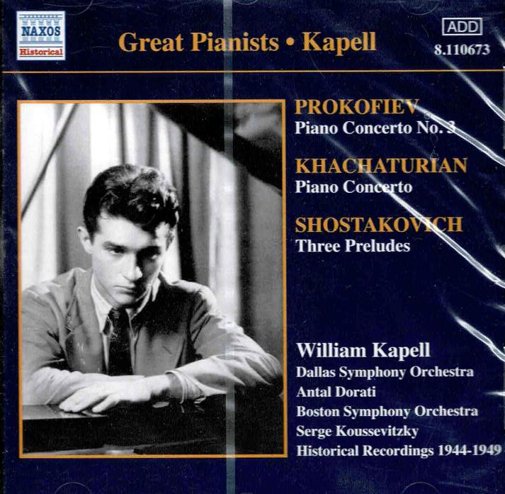 Piano Concerto no. 3 in C, op. 26 / Preludes, op. 34: nos. 24, 10, 5 / Piano Concerto in D flat