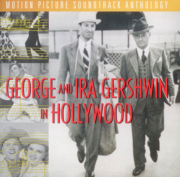 George and Ira Gershwin in Hollywood  image