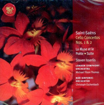 Cello Concertos Nos. 1 & 2; La Muse et le Po?te; Suite, Op. 16; Pri?re: Classic Library Series