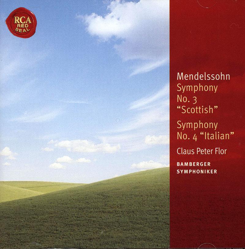 Symphony No. 3 Scottish; Symphony No. 4 Italian image