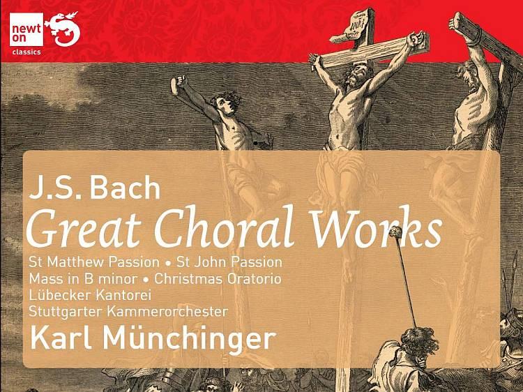 Mass in B minor, St John Passion, St Matthew Passion, Christmas Oratorio