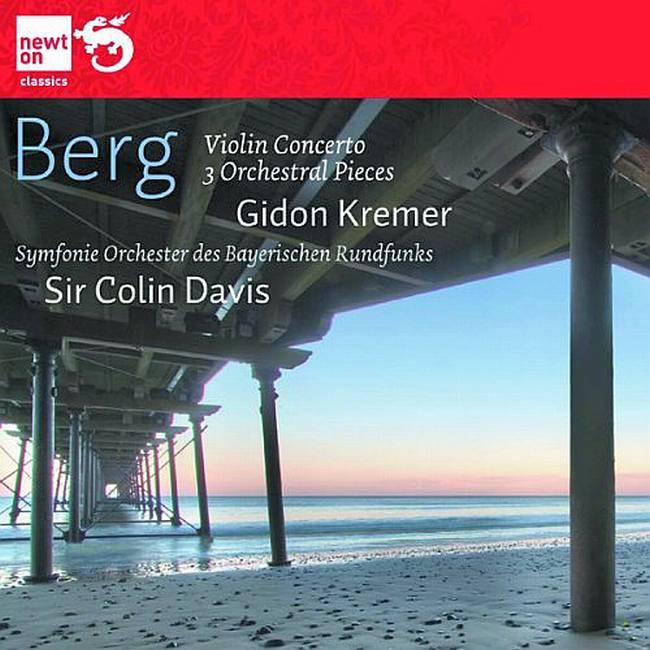 Violin Concerto and Three Orchestral Pieces image
