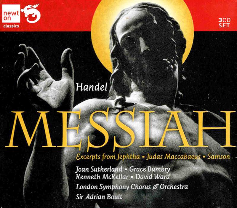 Messiah / Excerpts from Jephta, Judas Maccabaeus, Samson