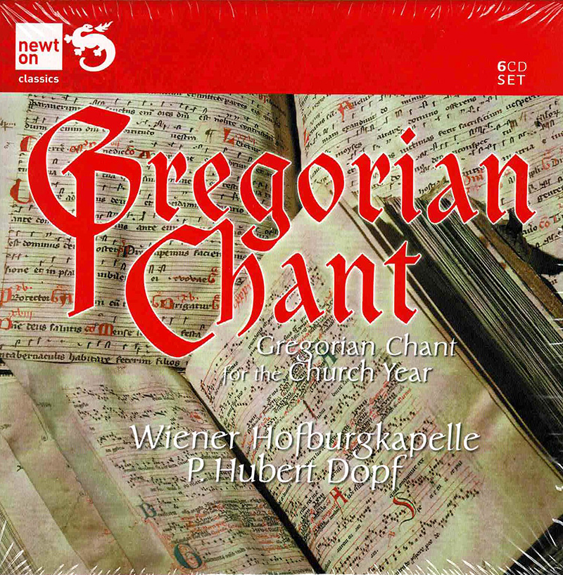 Gregorian Chant For The Church Year