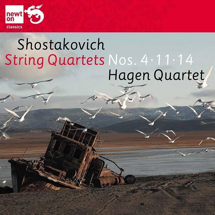 String Quartets Nos. 4, 11 & 14