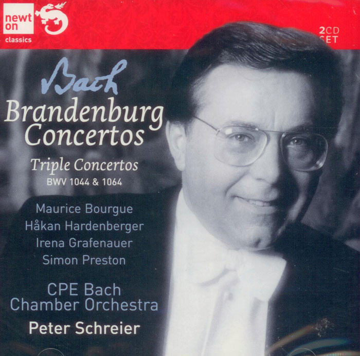 Brandenburg Concertos Nos. 1-6 / Concerto for Three Violins image