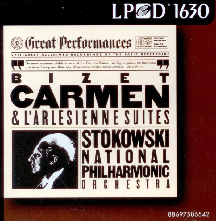 Carmen and L'Arlesienne Suites