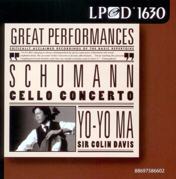 Cello Concerto and other pieces