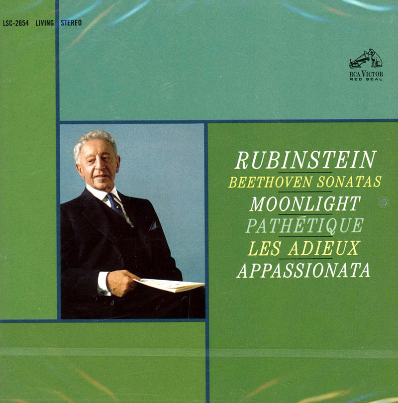 Sonatas (Moonlight; Pathetique; Appassionata; Les Adieux)