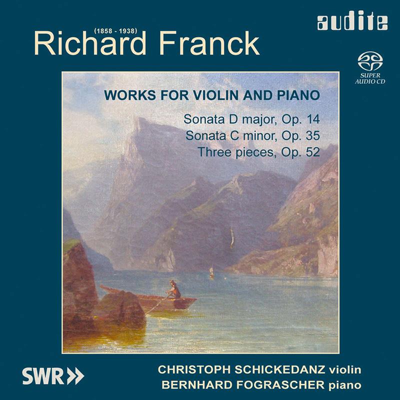 Sonate für Violine und Klavier Nr. 1 D-Dur op. 14 / Sonate für Violine und Klavier Nr. 2 c-moll op. 35