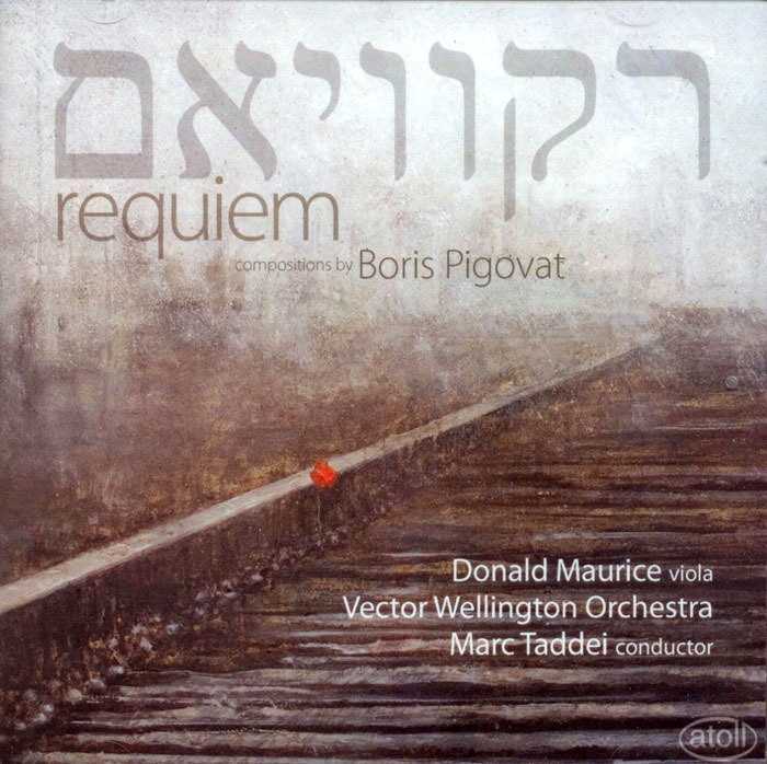Requiem for viola & orchestra / Prayer for viola & piano / Nigun for string quartet