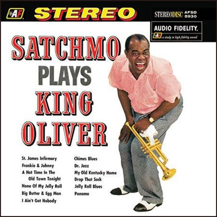 Satchmo Plays King Oliver  image