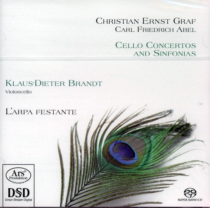 Cello Concertos and Sinfonias
