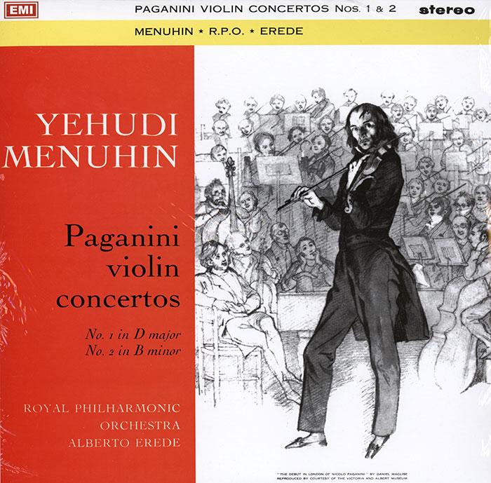 Concertos for Violin no 1 and 2