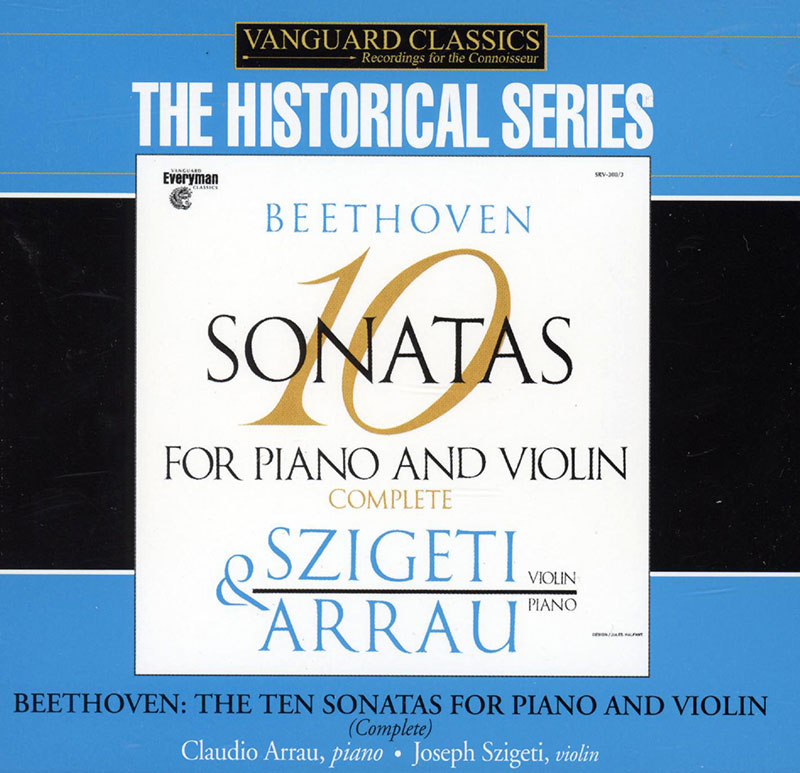 10 sonatas for piano and violin