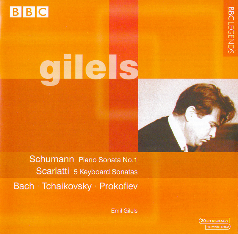 5 Sonatas / Piano Sonata No. 1 in F# Minor, Op. 11 / Aria and Variations in the Italian Manner, BWV 989 / 3 Pieces from Six Morceaux, Op. 19