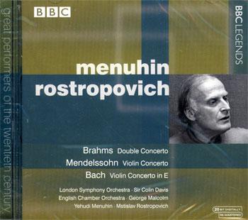 Concerto for Violin, Cello and Orchestra // Violin Concerto in E minor // Concerto for Violin, Strin