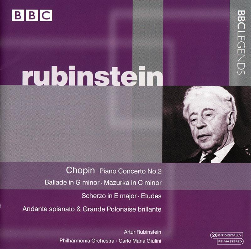 Piano Concerto No.2 / Ballade No.1 / Mazurka in C minor / Scherzo in E major