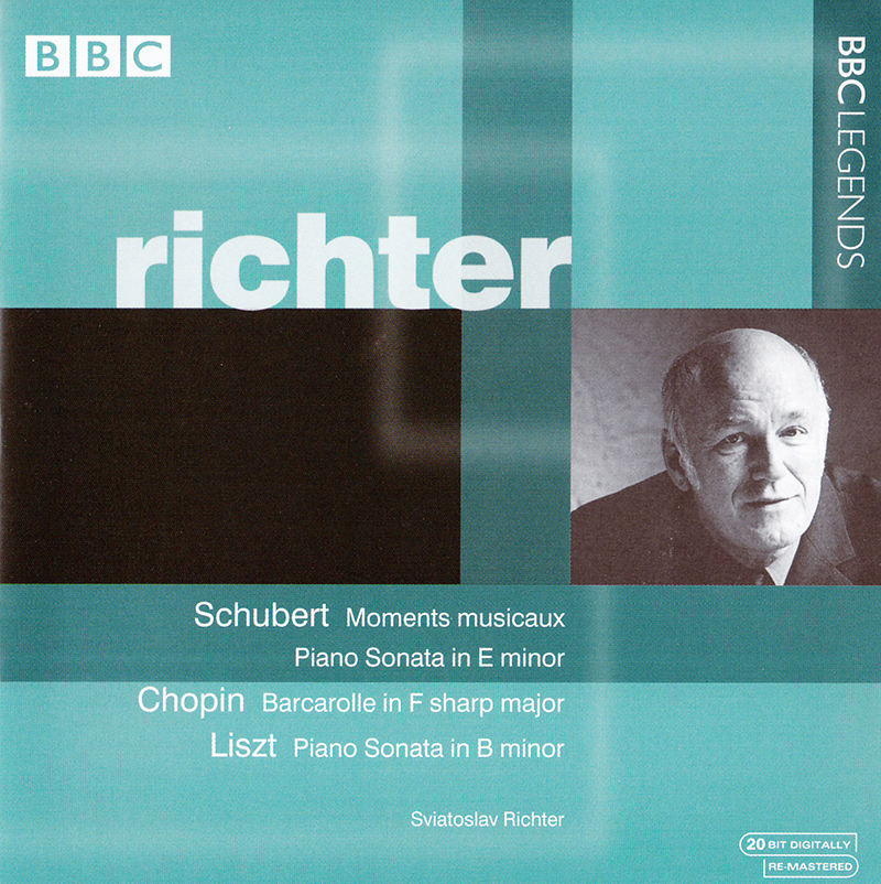 Moments musicaux, D780 / Piano Sonata in E minor, D566 / Barcarolle in F sharp major, Op.60