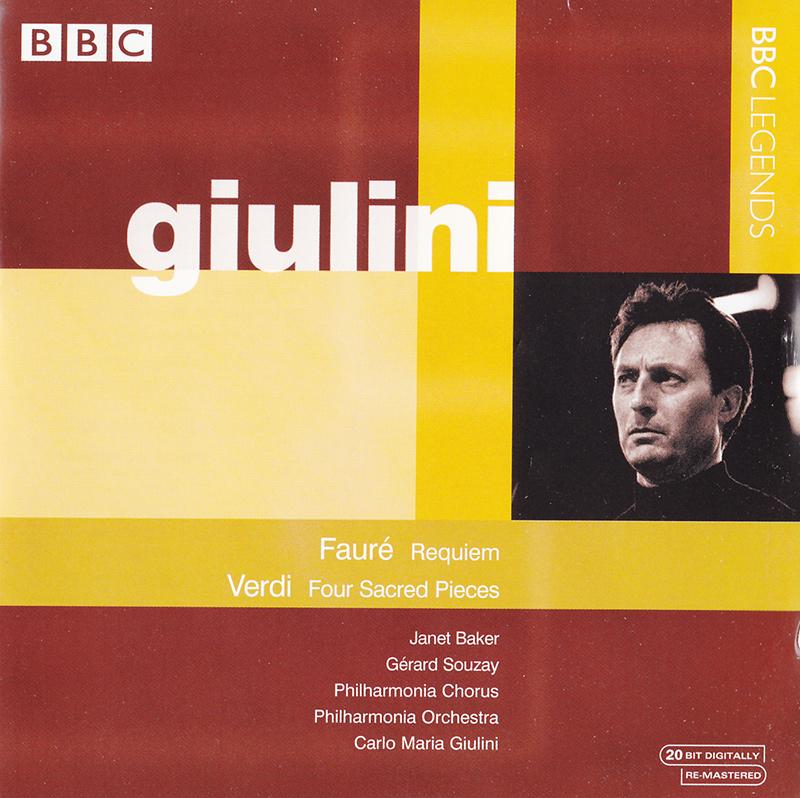 Requiem, Op. 48 / Quattro pezzi sacri