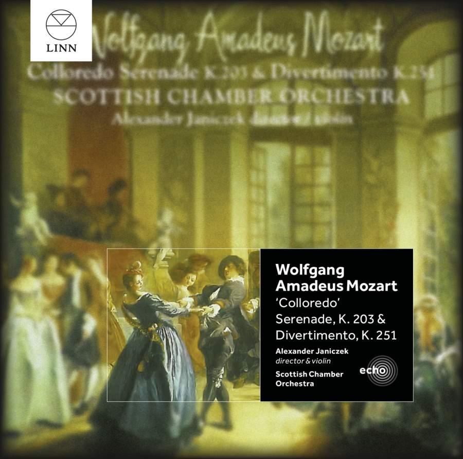 Mozart Serenades - Colloredo Serenade K.203 & Divertimento K.251 image