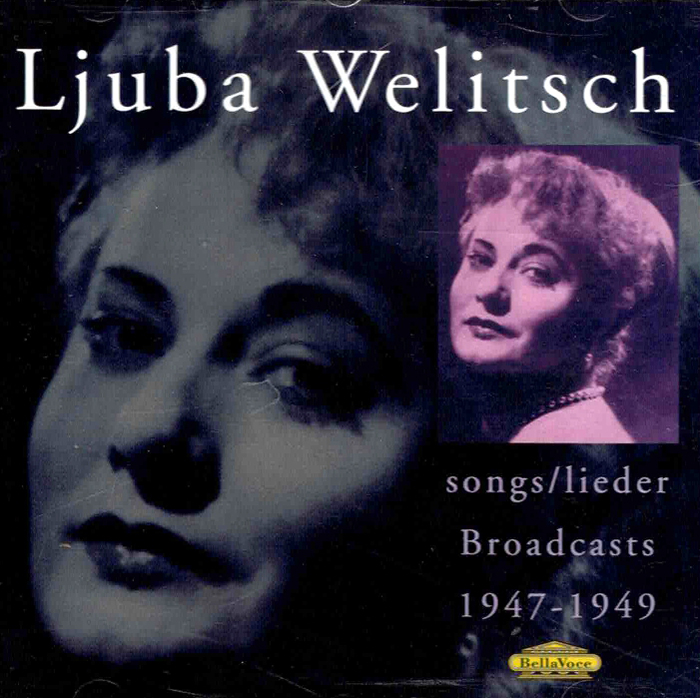 Songs / Lieder - Broadcasts 1947-49 image
