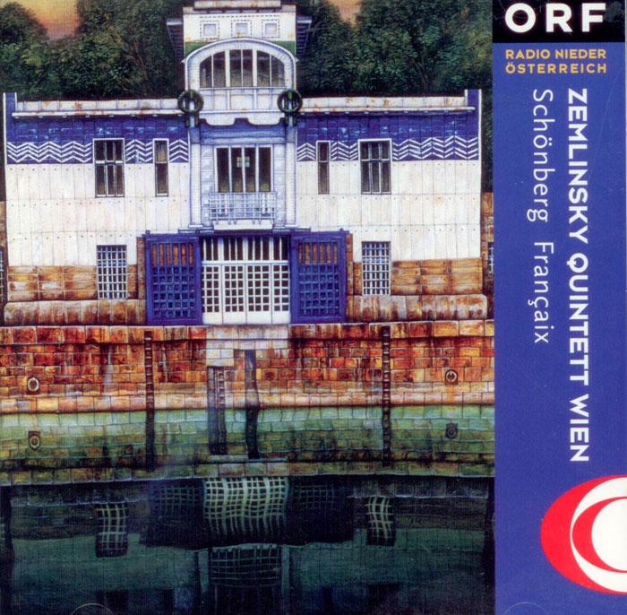 ARNOLD SCHONBERG: Blaserquintett / JEAN-RENE FRANCAIX: Quintette No. I