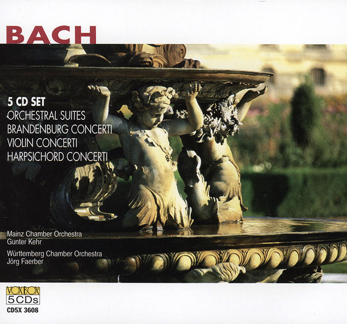 Complete Concerti & Orchestral Suites image