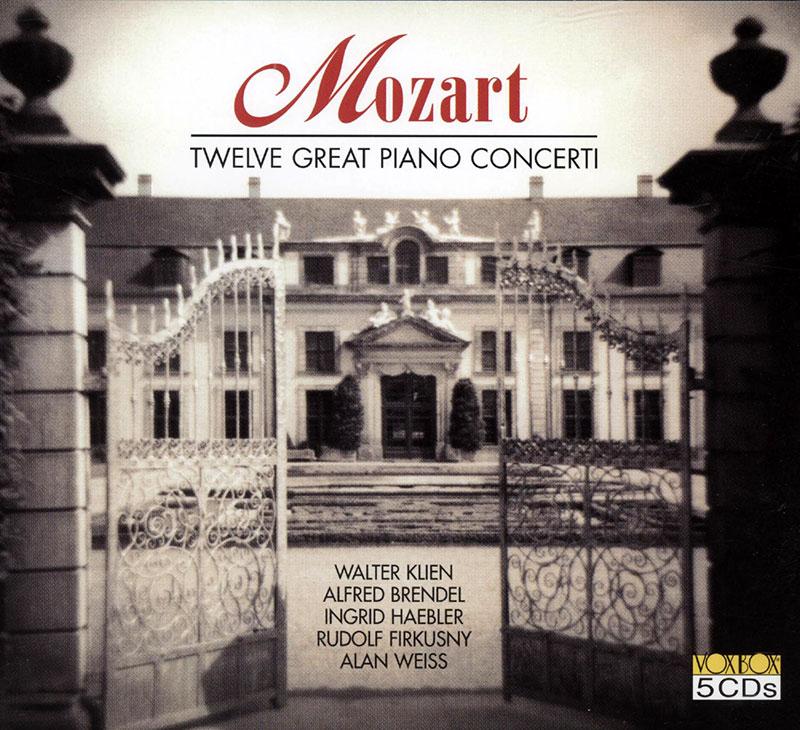 Twelve Great Piano Concerti image