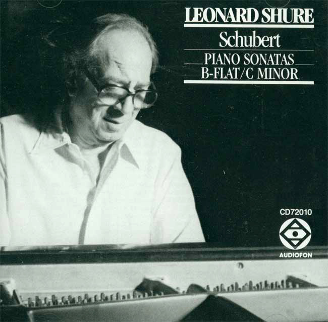 Piano Sonatas: in C minor / in B-Flat image