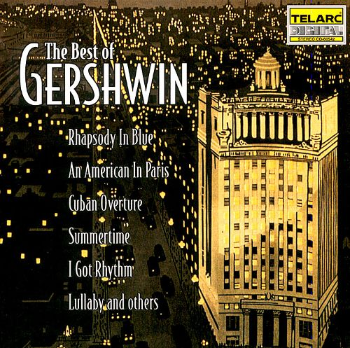 Rhapsody in Blue / An American in Paris / Summertime / Cuban Overture / Lullaby, for string quartet