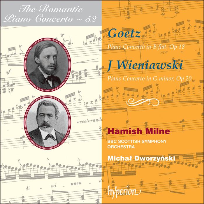 The Romantic Piano Concerto, Vol. 52  image